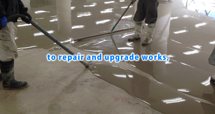 to repair and upgrade works,