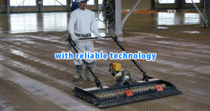 with reliable technology