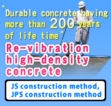 """Durable concrete having more than 200 years of life time"""